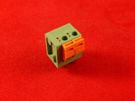 Клеммник нажимной CY142V-5.08-2P