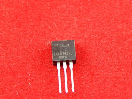 IRFB17N50L полевой транзистор, N