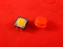 Тактовая кнопка B3F 12X12X7.5, красный