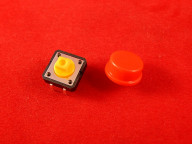 Выключатель B3F 12X12X7.5, красный