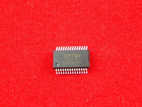 Микросхема FT232RL преобразователь интерфейсов USB - UART SSOP28