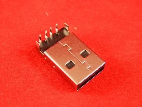 USB-AR (DS1097-B), Вилка угловая на плату, тип А