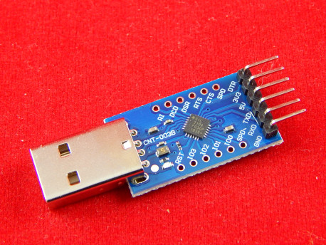 6PIN Конвертер USB в TTL...UART, на CP2104