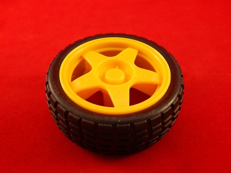 Пластиковое колесо (66мм)
