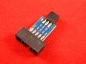 Переходник 10PIN на 6PIN для AVRISP USBasp STK500