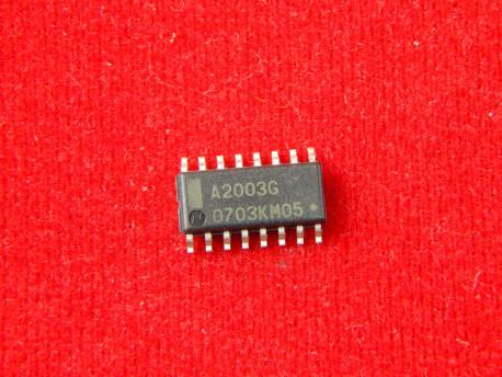 МикросхемаA2003G драйвер реле низкого напряжения, 3.3/5V, SOIC-16