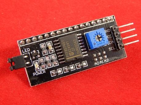 LCD 1602 (20х04) I2C модуль