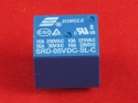 Реле 5V SRD-5VDC-SL-C 5 Pin 250V AC 28V DC