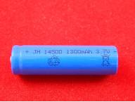 Аккумулятор 14500, 3.7V 1300mAh, li-ion без защиты