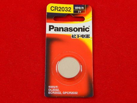 Батарея Panasonic CR-2032L/1B