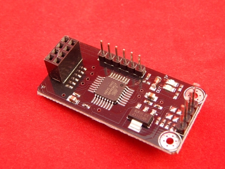 Конвертер для NRF24L01 на ATMEGA48 с SPI на I2C