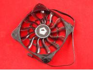 Вентилятор ID-12015L12S, 12V, 0.16A, 120x120x15 мм