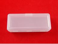 Органайзер 1 ячейка для хранения мелочей, 12,5x5x3,3 см, прозрачный