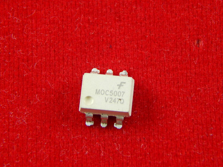 Оптрон MOC5007, 6V, 60mA, SOP-6