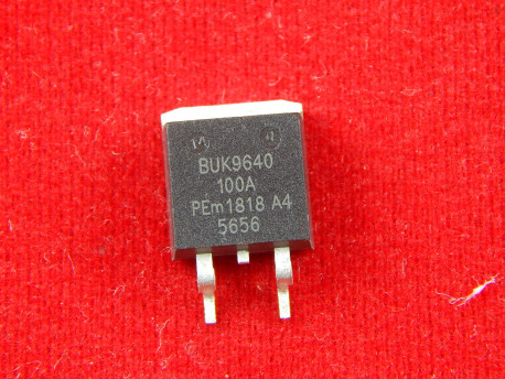 Полевой транзистор ВUК9640, N-канал, 100V, 39A