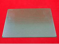 Двусторонняя монтажная плата 20x30 см, зеленая