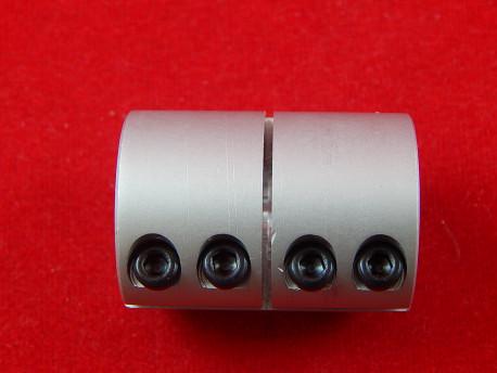 Жёсткая муфта D25L35, d8x12 мм для вала