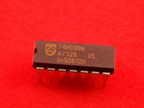 74HC00N Микросхема логики