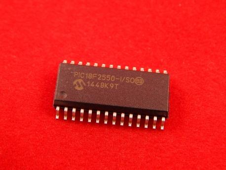 PIC18F2550-I/SO Микроконтроллер
