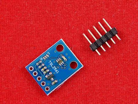 Цифровой датчик уровня освещенности GY-2561 (TSL2561)