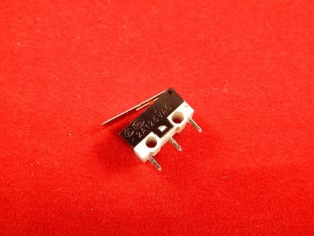 DM3-03P, Микропереключатель с лапкой (125В, 2А)