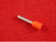 Наконечник трубчатый изолированный E2512, красный