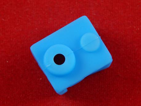 Силиконовая термоизоляция для E3D V6 хотэнда, синий
