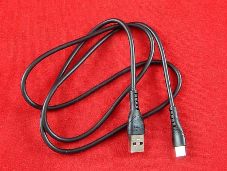 Кабель силиконовый MR10t, USB/Type-C, 1 м