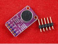 MAX9814 модуль электретного микрофона с усилителем