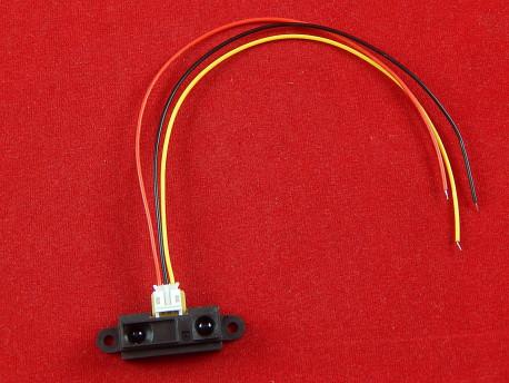 Датчик дальности Sharp GP2Y0A21YK0F инфракрасный, 10-80 см с кабелем