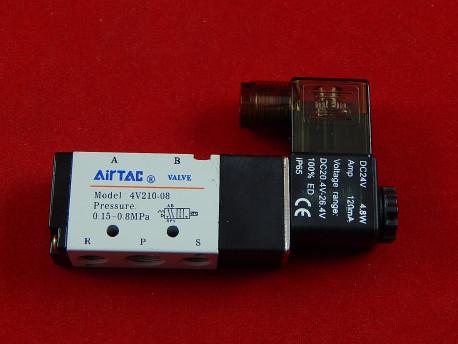 Пневмораспределитель клапан Airtac 4V210-08