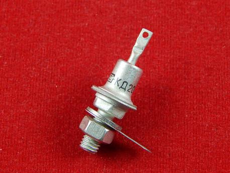 КД202Ж Диффузионный кремниевый диод, 300В, 5А, 1.2 кГц