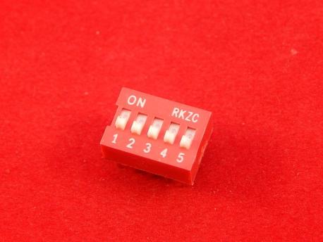 DS-05 (SWD1-5), Переключатель DIP-10