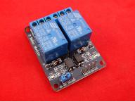 2-Канальный релейный модуль SRD-5VDC-SL-C с опторазвязкой