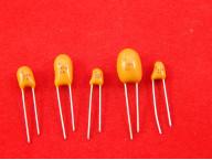 Танталовые конденсаторы DIP