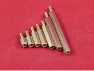 Стойка для печатных плат PCHSN М3, 1 отверстие под винт/1 винт
