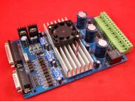 Контроллер шагового двигателя на 3 оси TB6560 3А