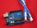 Аналог Arduino UNO R3 c USB кабелем