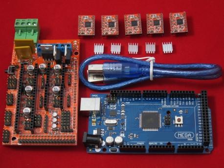 Комплект электроники для 3D принтеров RepRap, MendelPrusa