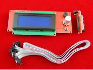 Панель управления с 2004 LCD/SD для платы RAMPS 1.4 (Smart Controller)