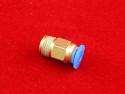 Фитинг для тефлоновой трубки 4 мм