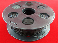Пластик ПЛА/PLA 1.75мм Черный (1кг)