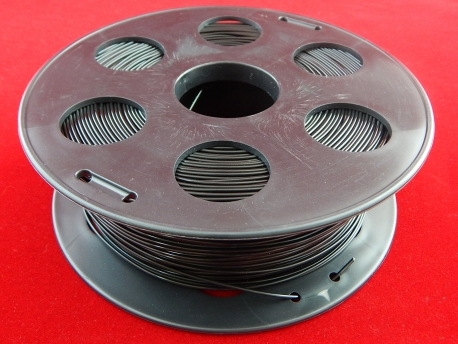 Пластик АБС/ABS 1.75мм Черный (1кг)