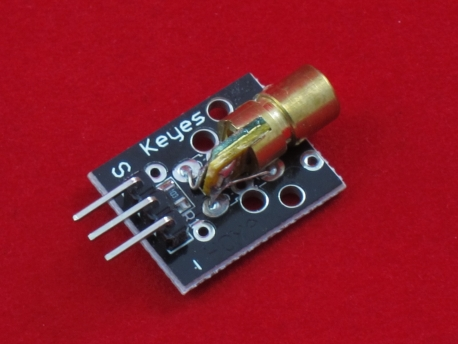 650нм лазер для Arduino