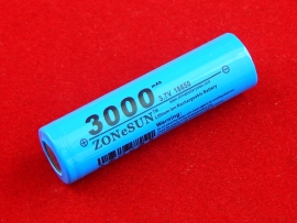Аккумуляторная батарея 18650 3.7V, 3000 mAh
