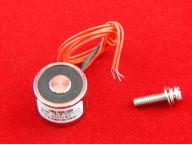 Электромагнит ELE-P20/15 (12В, 2.5кг, 3Вт)