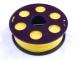 Пластик ПЛА/PLA 2.85мм Желтый (1кг)