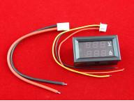 Цифровой вольтметр амперметр DC 0-100В + шунт 50А