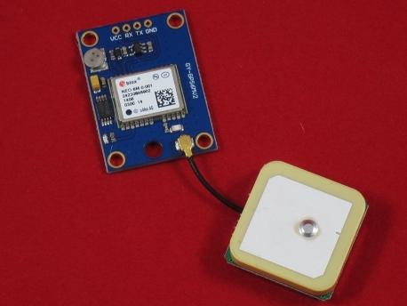 GPS модуль Ublox NEO-6M (GY-GPS6MV2)