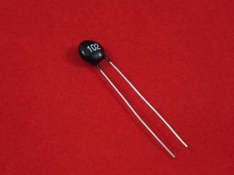 Датчик температуры (термистор) NTC MF52-103 3435